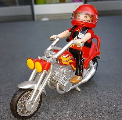 playmobil 5113 shopper biker motorrad easy rider eur 8. Black Bedroom Furniture Sets. Home Design Ideas