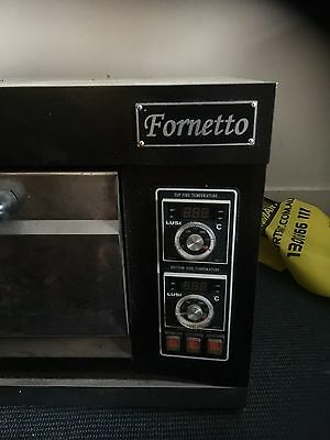 Fornetto, 3 Phase Electric Deck Pizza And Bread Oven