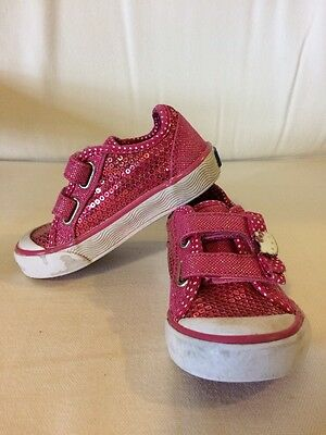 Keds Shoes, Toddler Girl's US 5, Pink, Hello Kitty, Sparkly