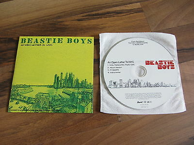 BEASTIE BOYS An Open Letter To NYC 2004 EURO 4 vers promo collectors CD single