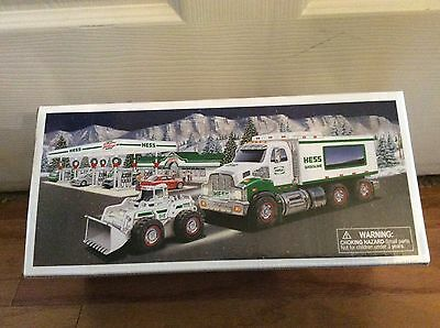 2008 HESS TOY TRUCK AND FRONT LOADER - New in Original Box