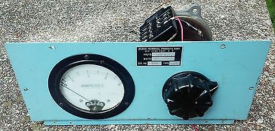 Staco Adjust-A-Volt variable transformer type 500bu and amp meter