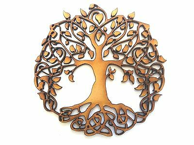 WOODEN TREE OF LIFE craft blank embellishment scrapbook wedding card gift wall