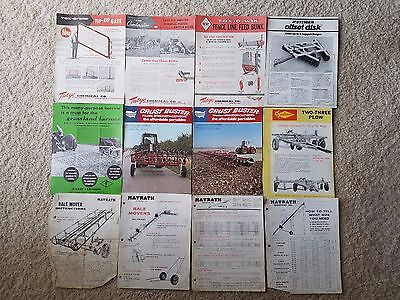 Huge Lot Of Vintage Agriculture/Farming Advertising - Free Shipping!!