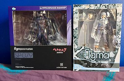 Berserk Max Factory Figma Femto 79 AND Figma Griffith 138 -NEW-