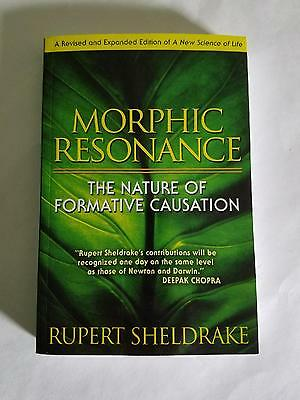 Morphic Resonance The Nature of Formative Causation by Rupert Sheldrake Book
