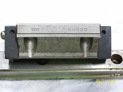 """4 Thk Shs20 Linear Bearing Block And 2 Guide Rails 430Mm 17"""""""