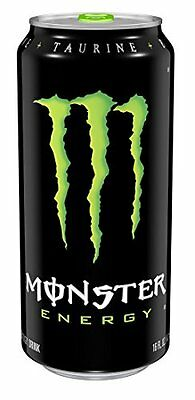 Monster Energy Drink, 16-Ounce Cans (Pack of 24) - Free Shipping