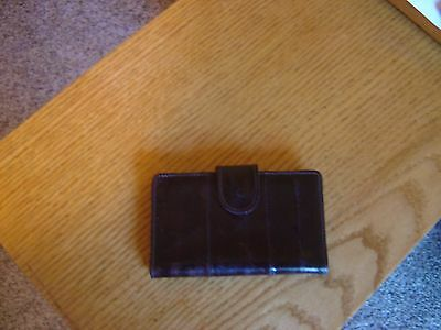 Genuine Eel Skin Credit Card Holder
