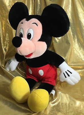 """Mickey Mouse Plush 12"""" Authentic Disney Doll Stuffed Soft Toys Animal"""