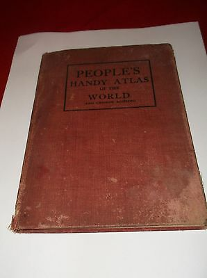 People's Handy Atlas of the World (1910 Census Edition)