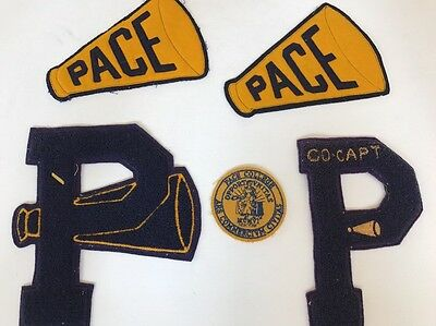 Pace College New York City Lot Of School Letters And Patch