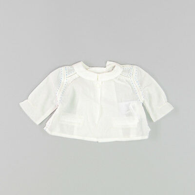 Blusa color Blanco marca Bass10 0 Meses