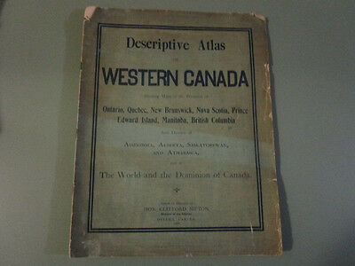 1900 Descriptive Atlas of Western Canada