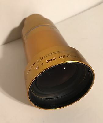 ISCO OPTIC ULTRA STAR HD Lens With HD ZOOM CONVERTER 35mm Film
