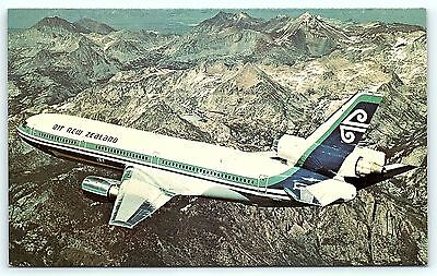 Postcard Air New Zealand Limited DC-10 Airlines Plane B36