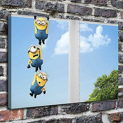 Despicable Minions painting HD Print on Canvas Home Decor Wall Art Picture 12x18
