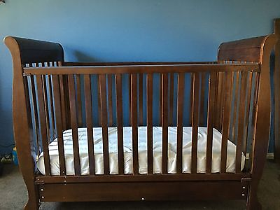 Sleigh Cot/Toddler Bed