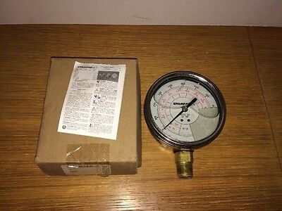 ENERPAC GF10P Pressure Gauge, 0 to 10000 psi, 4In, 1/2In