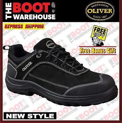 Oliver Work Boots, 34613, Steel Toe Safety, Suede Lace-Up, Jogger.  NEW STYLE!