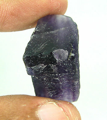 61.80 Ct Natural Bi-Color Fluorite  Loose Gemstone Rough Stone- RH111