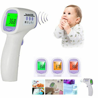 Non-contact IR Infrared Body Forehead Temperature Thermometer Temp Measuring Kit