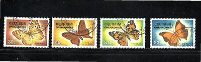 Grenadines of Grenada 1982 Butterflies SG 488/91 Used