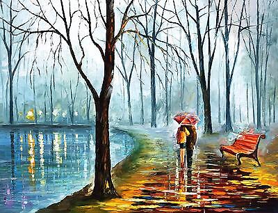 Romatic Love Couple Paiting art Canvas Print home Decor choose your size