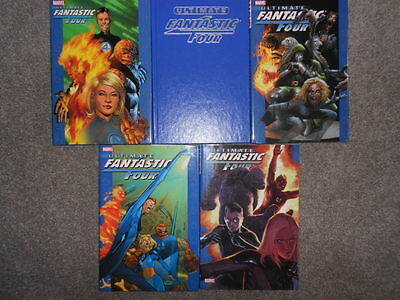 Ultimate Fantastic Four Oversized Hardcovers Volumes 1,2,3,4,5