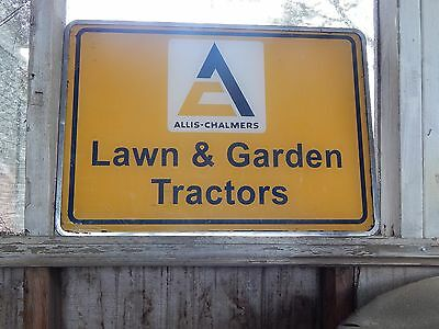 Old Allis Chalmers Store Sign