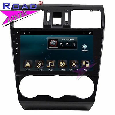 """10.1"""" Quad Core Android 6.0 Car Stereo Player For Subaru Forester 2013 GPS Navi"""