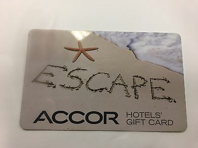 ACCOR Hotels $ 250 Gift card