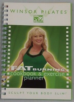 Winsor Pilates Fat Burning Cookbook & Exercise Planner