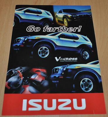 Isuzu Vehi Cross Trooper Pickups Brochure Prospekt