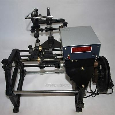 220V Automatic Coil Winding Machine Hand Coil Winder W/ Electronic Counting F