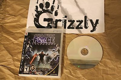 USED Star Wars The Force Unleashed PS3 (NTSC) TESTED and WORKING