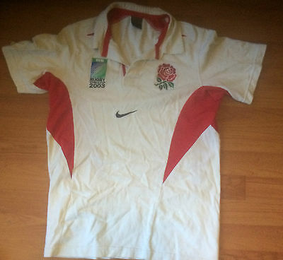 Rugby union England 2003 IRB World Cup Jersey (size Small)
