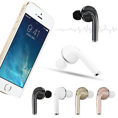 Bluetooth Headset SPORT Stereo Kopfhörer Ohrhörer für Apple iPhone 7/7 Plus AU