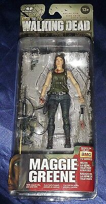 MAGGIE GREENE amc THE WALKING DEAD Series 5 Action Figure MOC 2014