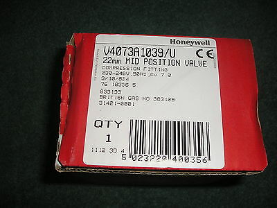 Honeywell 22 Mil Mid Position Zone Valve V4073A1039/u