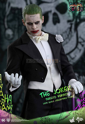 Suicide Squad The Joker Tuxedo Ver. Jared Leto Action Figure 1/6 Hot Toys MMS395