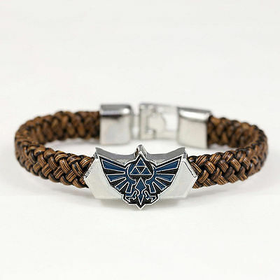 The Legend of Zelda PU Leather Bracelet Wristband Cosplay 8Inch New Style Link