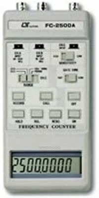 Fc-2500A Frequency Counter(2500/100/10Mhz)2.5Ghz Lutron Meter Tester Measureme T