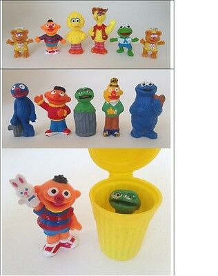 Collectable PVC Sesame Street Character Figures (13)