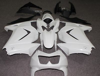Unpainted Drilled ABS Bodywork Fairing for KAWASAKI NINJA 250R 08-2012 2009 2010