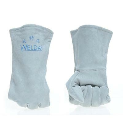 Heavy Duty Welding Gloves Cowhide Leather Gloves Protect Welder Hands Large