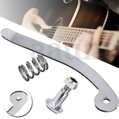 Chrome Tremolo System Nut Vibrato Arm Whammy Bar For Archtop Electric Guitar