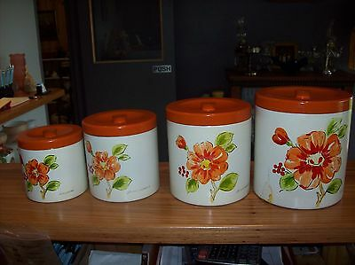 Set of Canisters x 4