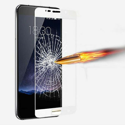 White Premium Tempered Glass Screen Protector Full Cover For Various Phones