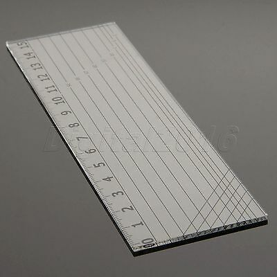 Sew Easy Rectangle Patchwork Rulers Qulting Sewing Cutting Tailor Tools 15*5cm